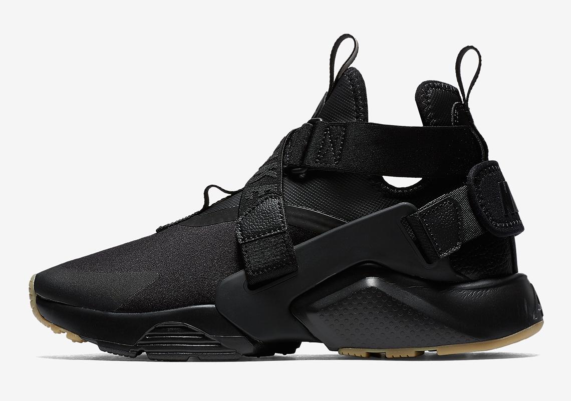info for 78519 41a8e Nike Air Huarache City Color BlackBlack-DK Grey-GumLT Brown Style Code  AH6787-003