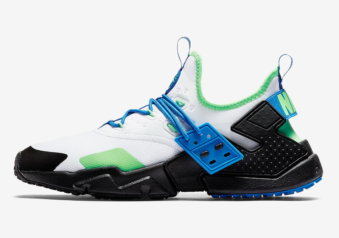 separation shoes 816a6 30ddb Nike Air Huarache Drift Scream Green AH7334-102 Available Now ...