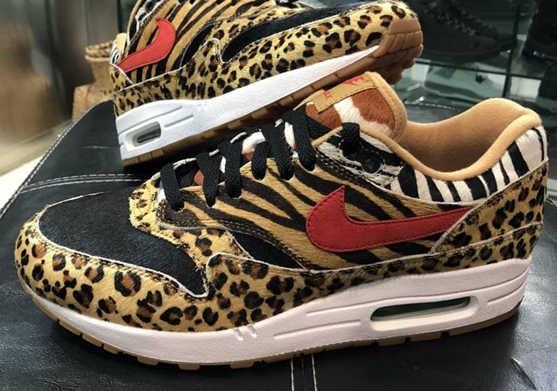 "new product 7ebea 497a9 Up Close With The atmos x Nike Air Max 1 ""Animal Pack 2.0"""