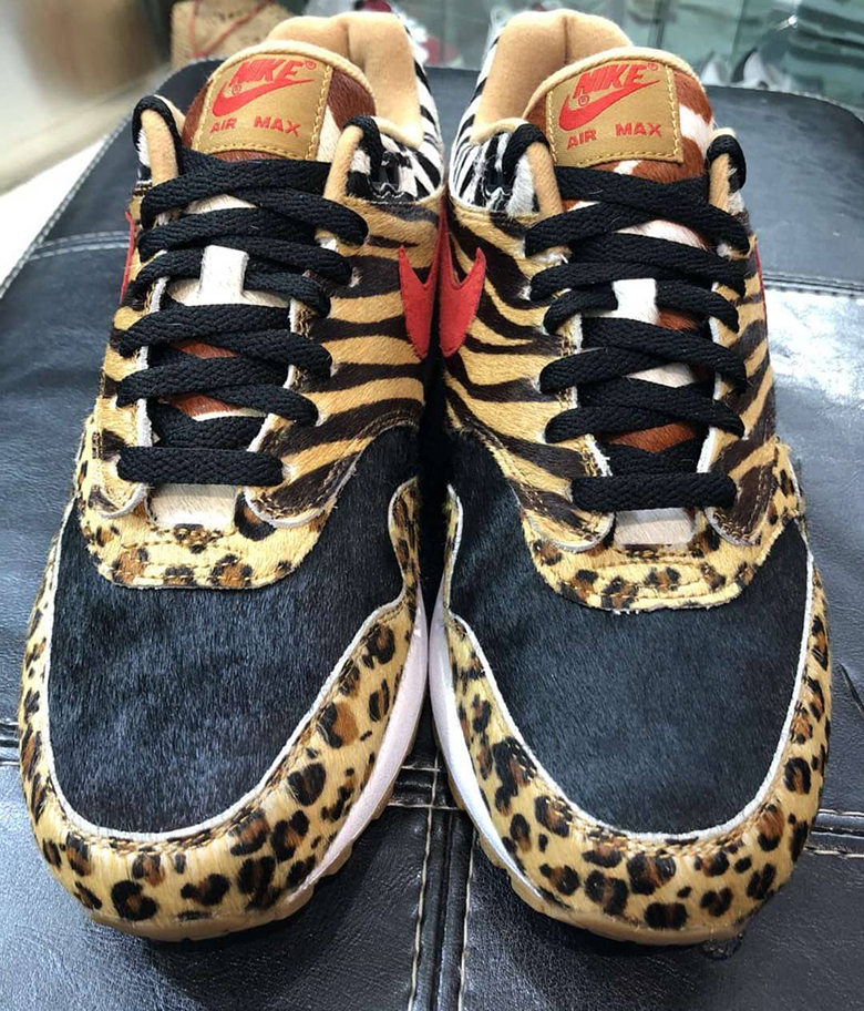 new product fed3b 6091c air max 1 leopard print size 5
