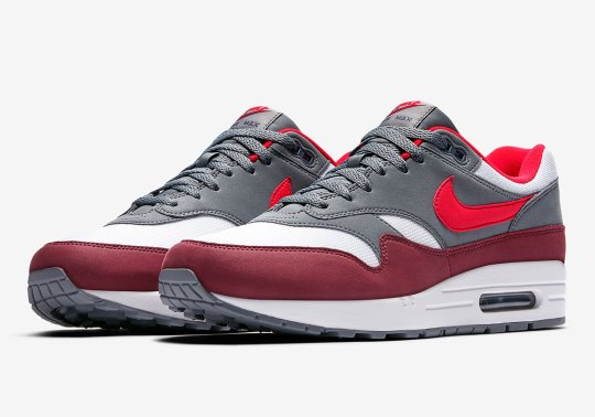 Bright Infrared Hits The Nike Air Max 1