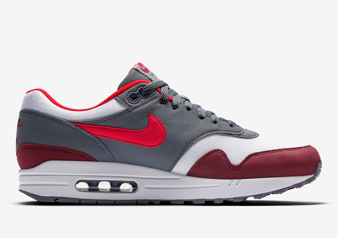 nike air max 1 bright infrared release info ah8145 100. Black Bedroom Furniture Sets. Home Design Ideas