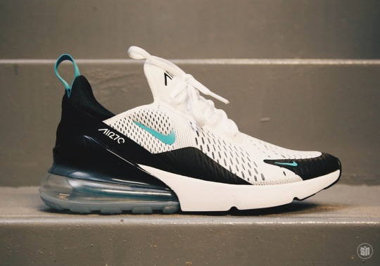 "Nike Air Max 270 ""Teal"" To Release On Air Max Day"