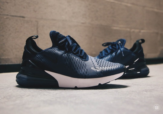 First Look At The Nike Air Max 270 In Midnight Navy
