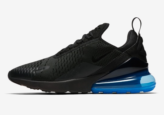 Photo Blue Arrives On The Nike Air Max 270