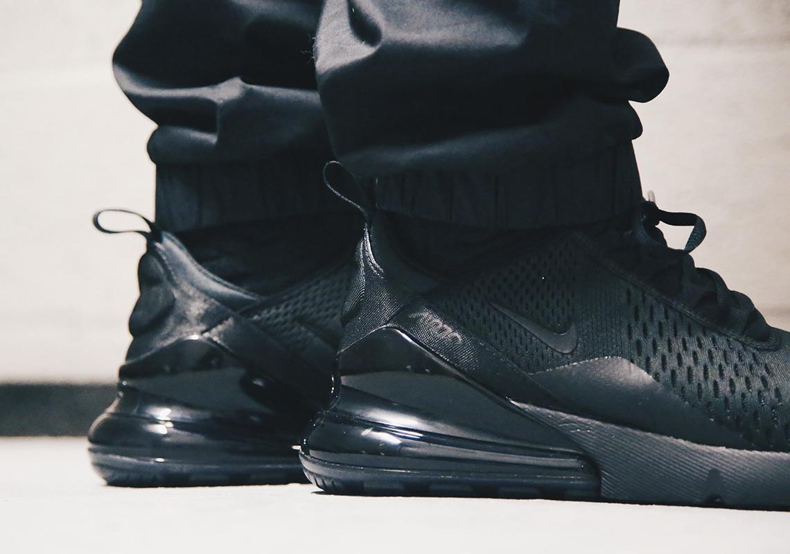39da6ce0044f Nike Air Max 270 Triple Black AH8050-005