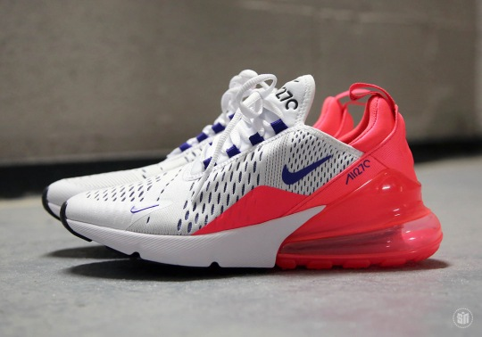 "Nike Air Max 270 ""Ultramarine"" To Release On Air Max Day"