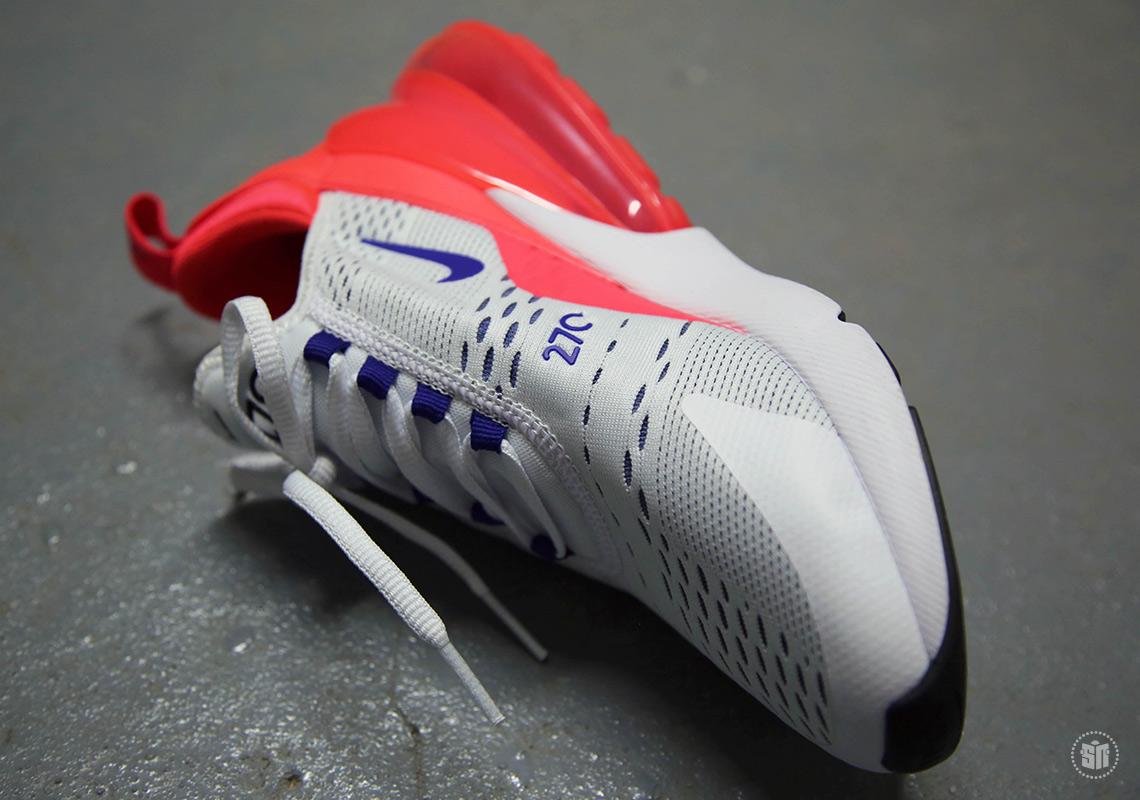Nike Air Max 270 Rosa Og Hvitt mDMMRq1