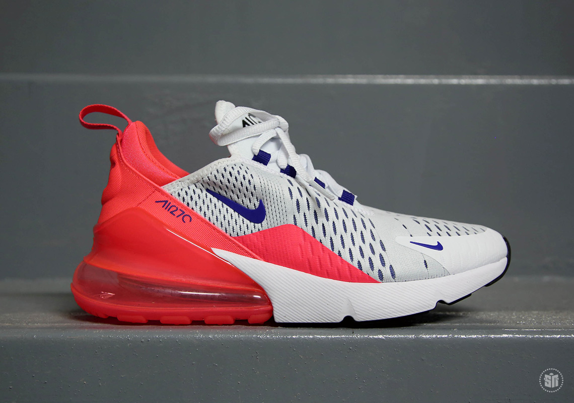 Nike Air Max 270 White Ultramarine Solar Red AH6789-101 ... 8a2702ef91dc
