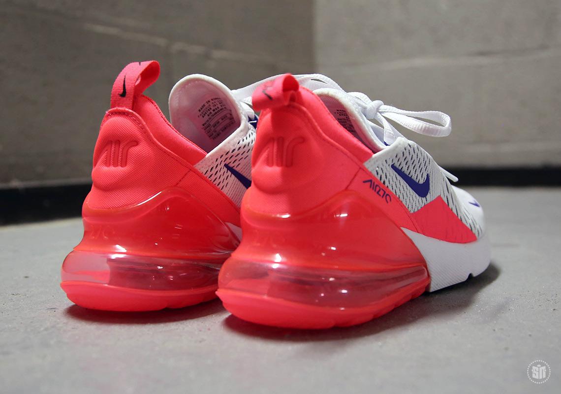 Nike Air Max 270 Bianco Rosa 3RYH5ai8MA