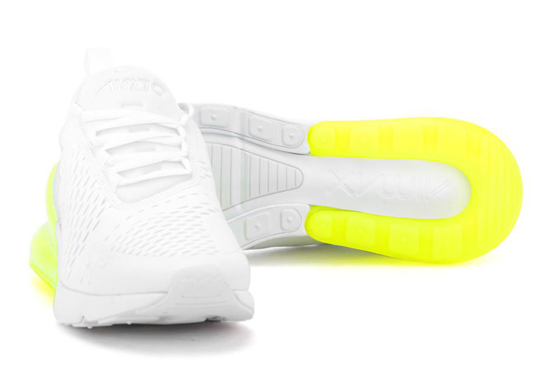 timeless design a1b93 a0a59 Nike Air Max 270  150. Color  White White-Volt Style Code  AH8050-104