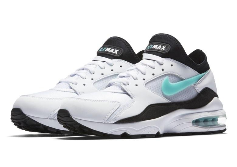 size 40 862dc 6d869 Nike Air Max 93 OG White Black Dusty Cactus 306551-107 ...