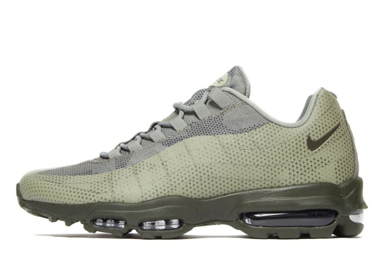 Nike Adds An Earthy Green Hue To The Air Max 95 Ultra Essential