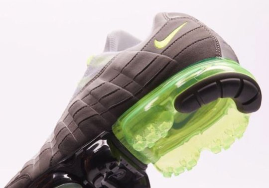 """Nike To Release Air Vapormax 95 """"Neon"""" In 2018"""