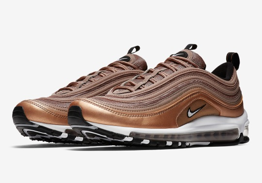 "Nike Air Max 97 ""Bronze"" Set To Release This Weekend"