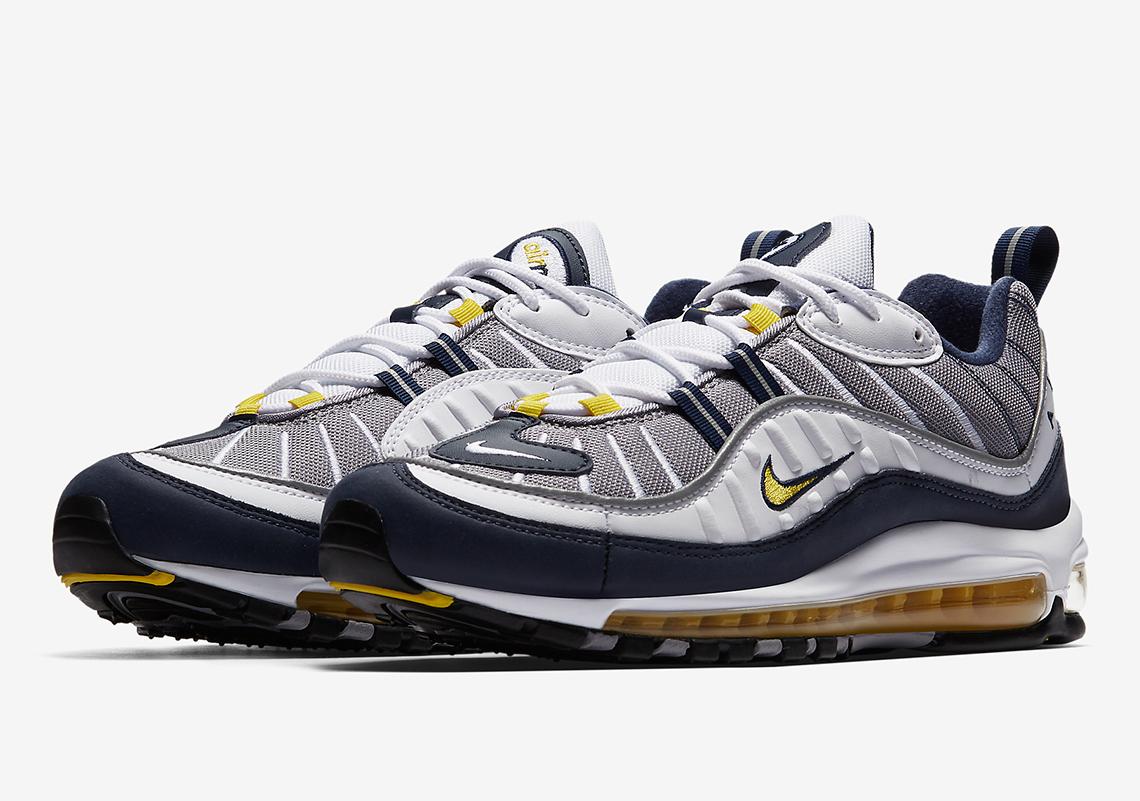 368dacec947d23 Nike Air Max 98 OG 640744-100 + 640744-105 Release Info ...