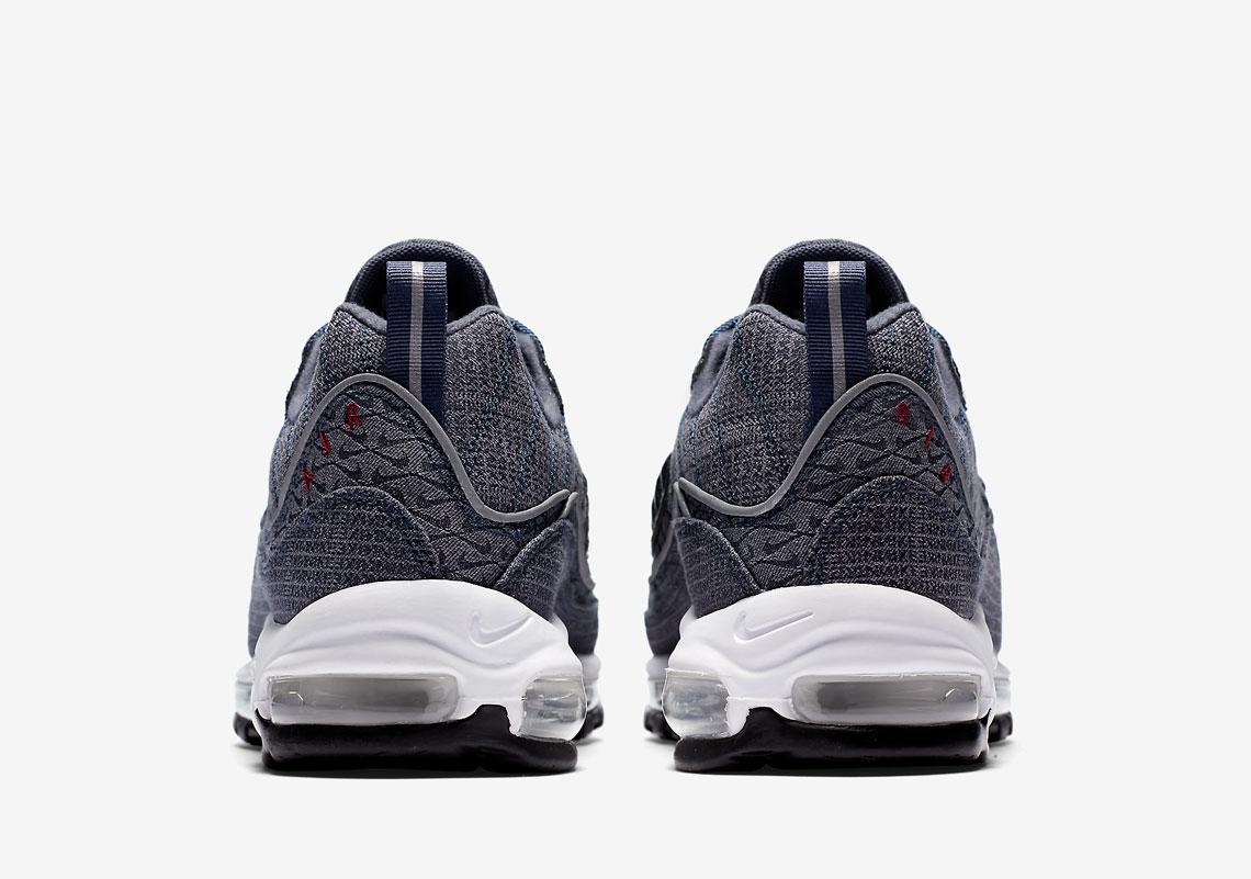 Nike Air Max 98 Qs Trueno Azul m3pmq7i4rR