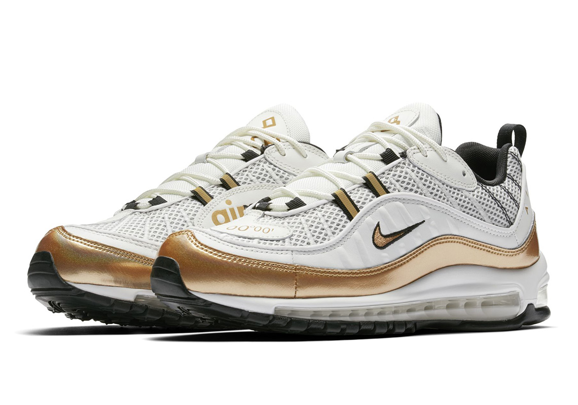 air max 98 rose gold
