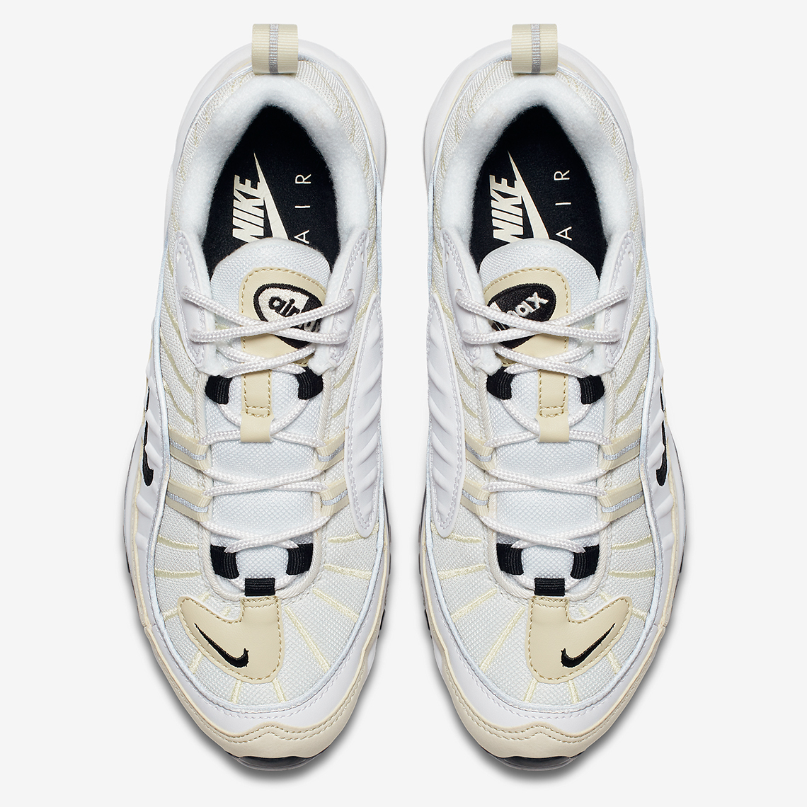 Nike Air Max 98 Para Mujer Blancos Triples LFxTeO1