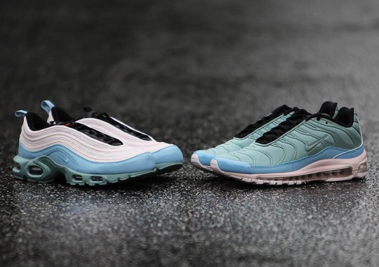 The Nike Air Max Plus 97 Hybrids Are Releasing In Blue