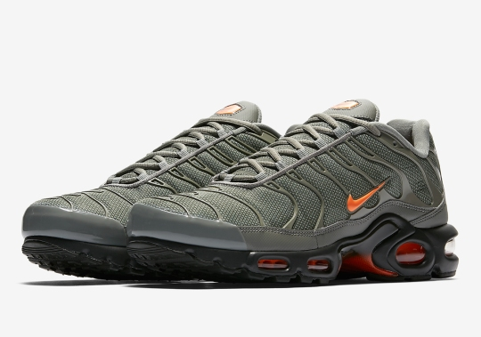 Nike Adds Orange And Grey To The Air Max Plus Releasing On February 8th
