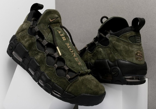 "The Nike Air More Money ""US Dollar"" Releases This Saturday"