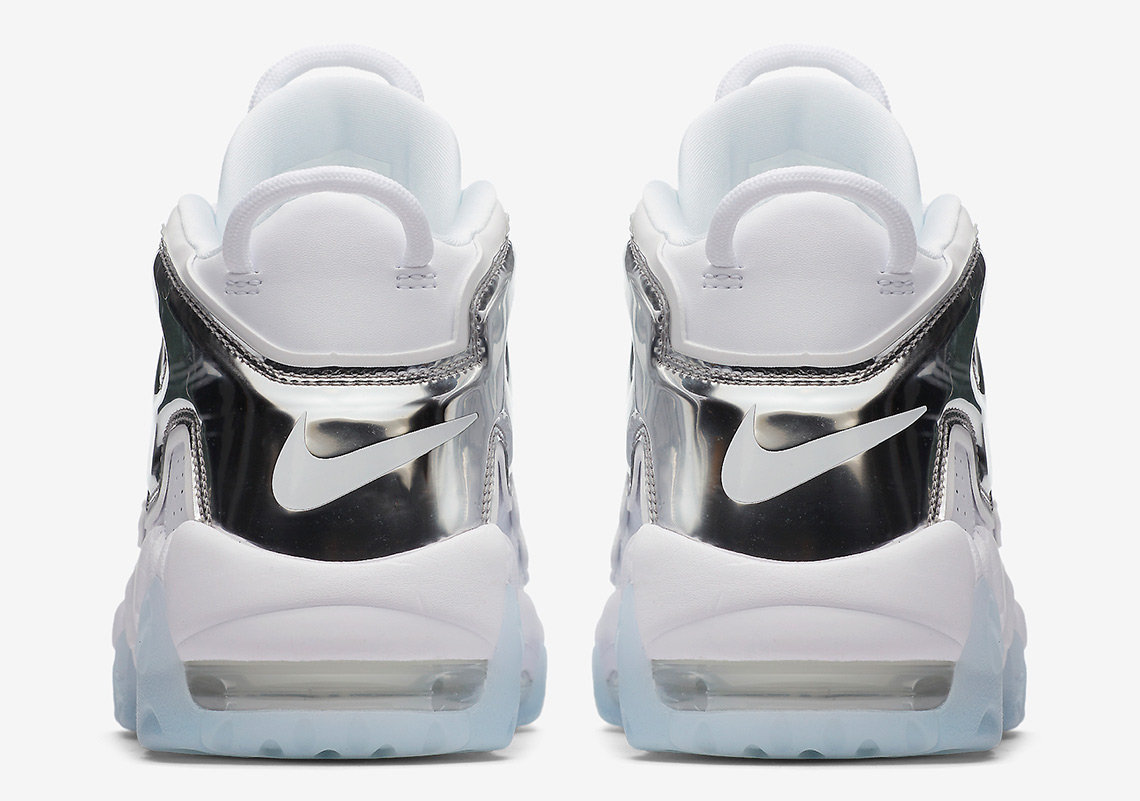 Nike Air More Uptempo White Chrome Blue Tint 917593 100