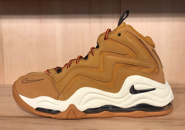 "The Nike Air Pippen 1 Appears In Workboot Style ""Desert Ochre"""
