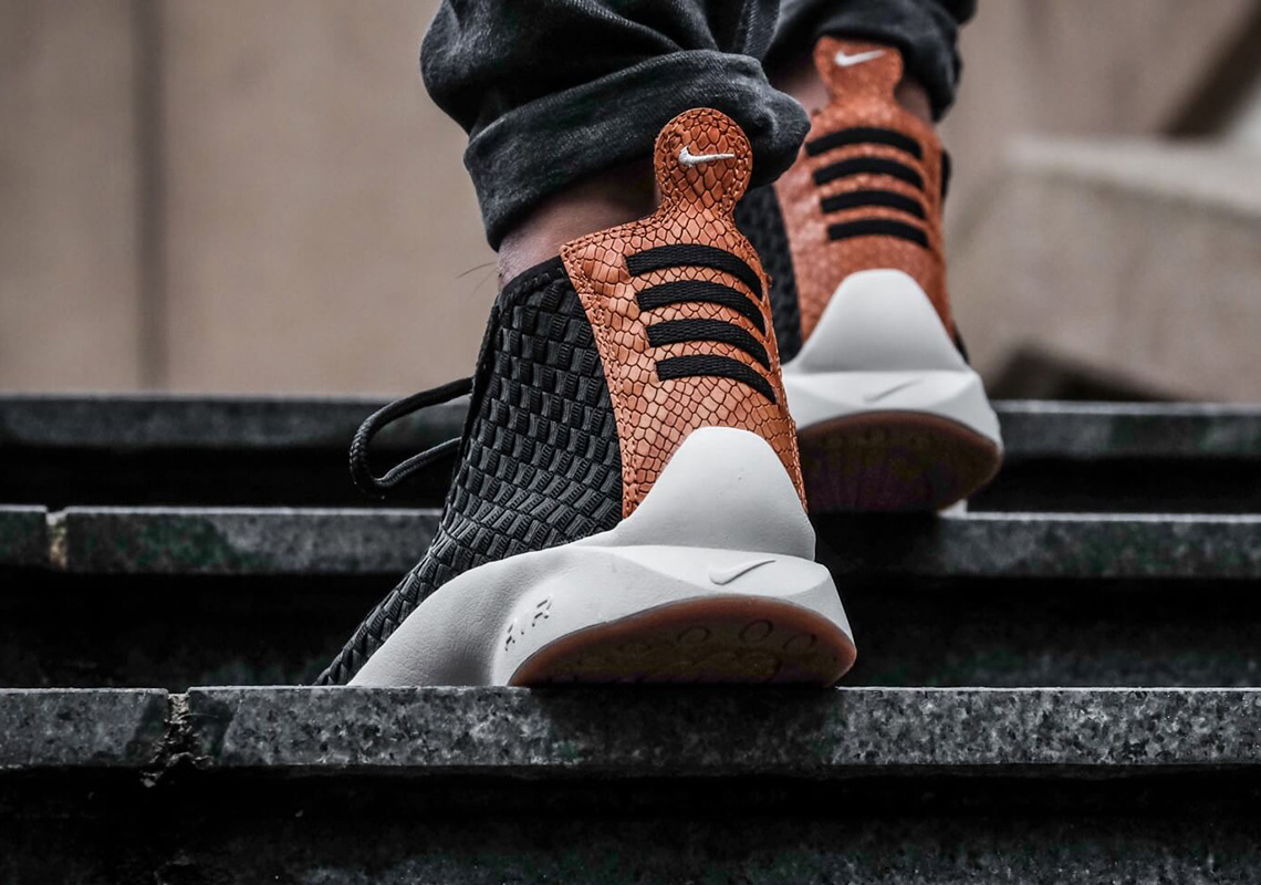 more photos efa67 1bff5 ... Nike Air Woven Boot Black Black-Dark Russet-Black at a great price  Shop this Article ...