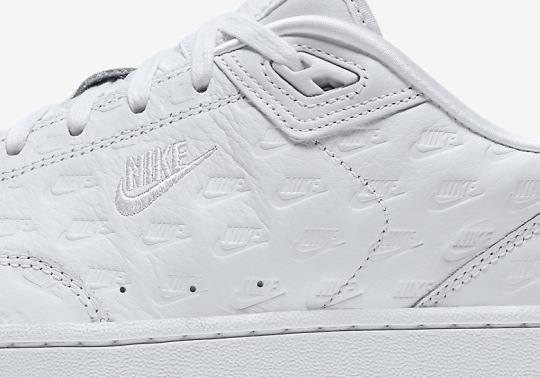 "Nike Brings The ""All Over Logo"" Look To The Grandstand II"