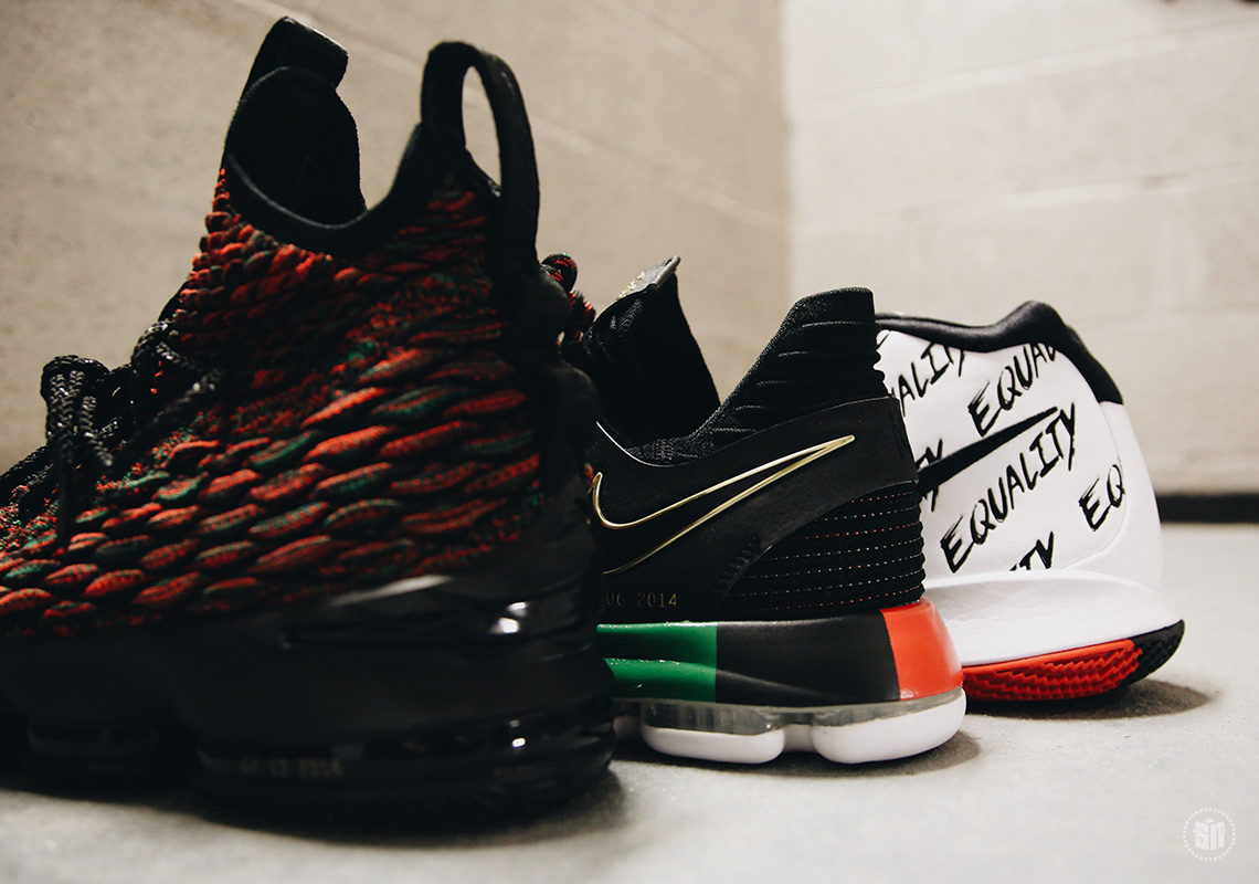 ... one that proudly celebrates Black History Month while raising awareness  through footwear. The entire Nike Basketball BHM Collection releases on  January ...
