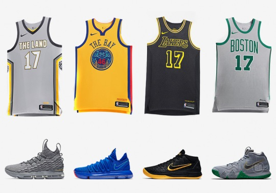 "Nike Basketball's ""City Edition"" Collection Releases Tomorrow"