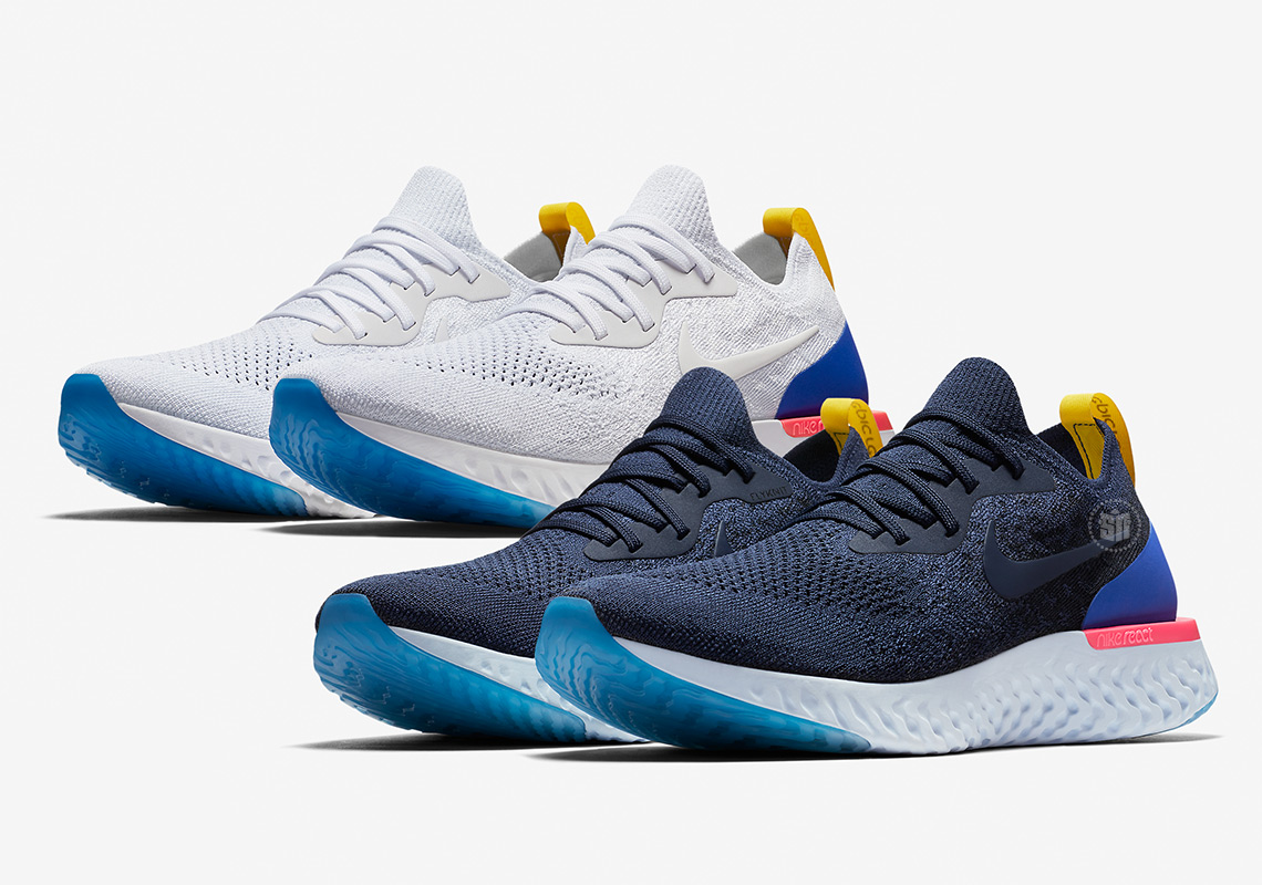 Official Images And Release Dates For The Nike Epic React