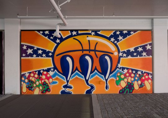Stash And Other Artists Create Murals For Nike's NYC Garage