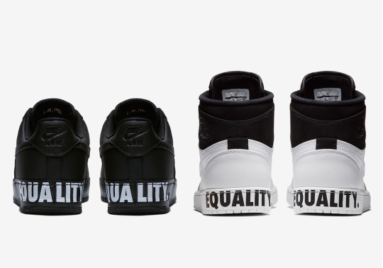 """First look At The Air Jordan 1 """"Equality"""" For Black History Month"""