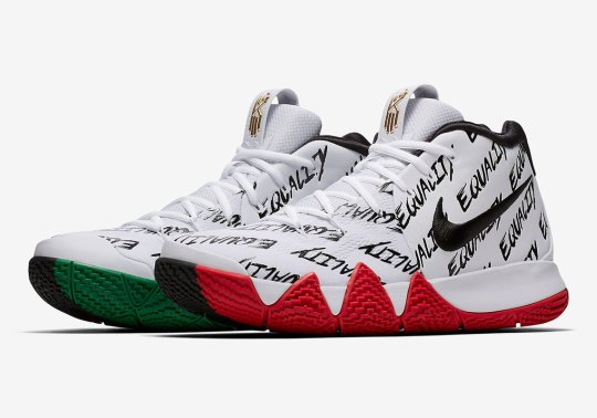 """Nike Kyrie 4 """"BHM"""" Spreads Message Of Equality"""