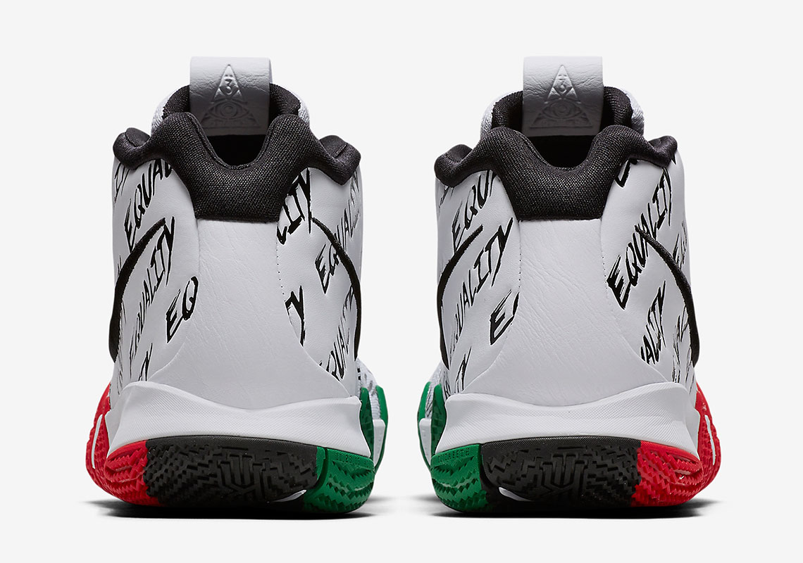 on sale 0c3d7 0653f Nike Kyrie 4 EP BHM Release Date  January 15th, 2018  120. Color  Multi- Color Multi-Color Style Code  AQ9231-900. ebay image