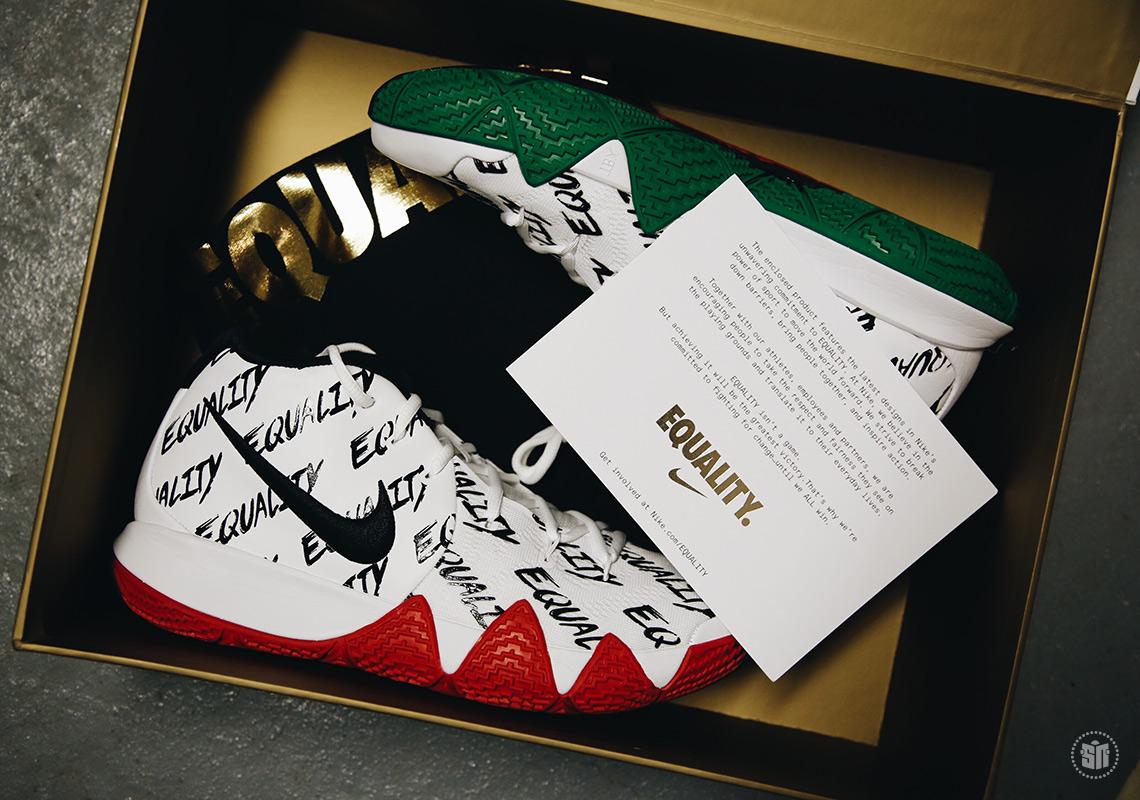 big sale 66634 af64c Nike Kyrie 4, KD 10, LeBron 15 - BHM Equality Release Info ...