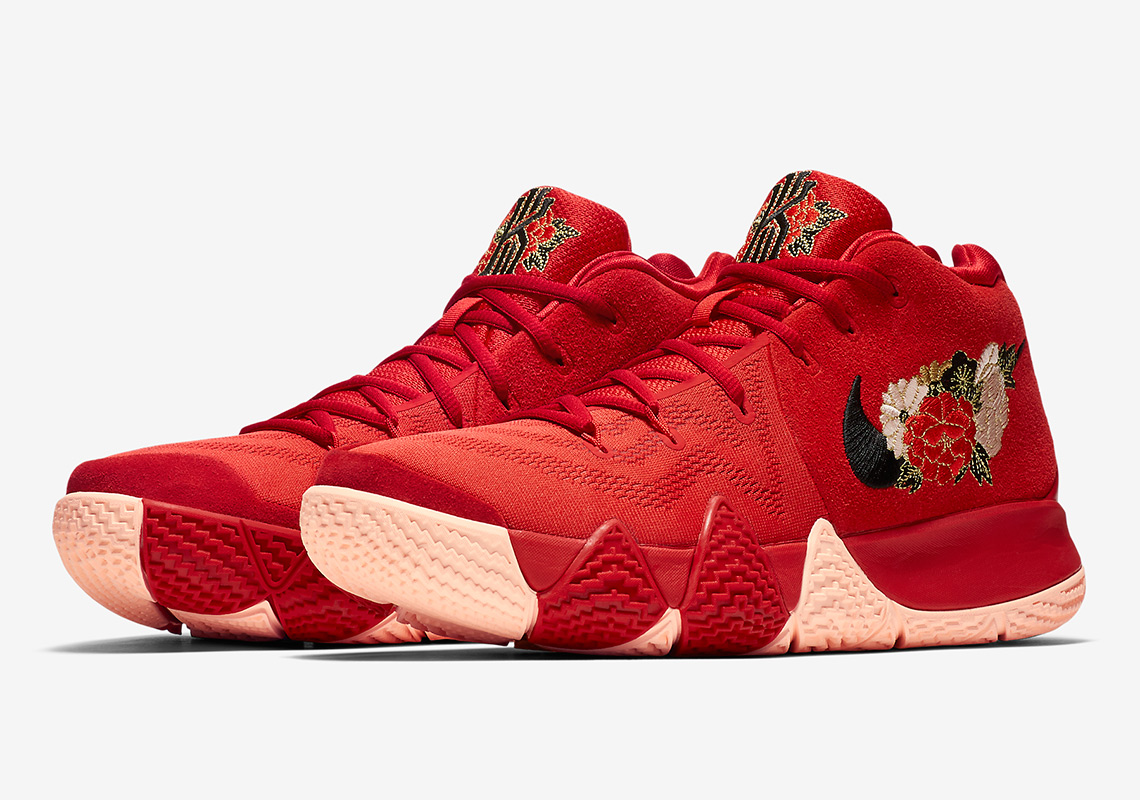 """Nike Kyrie 4 """"Chinese New Year"""" 943807-600 Release Info ..."""