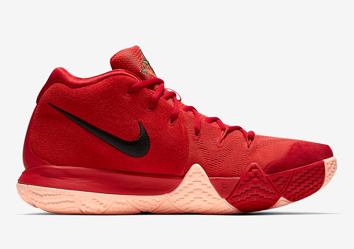 best sneakers f51f0 bbc5c sweden nike kyrie 3 university red black team red oak 9934a ...