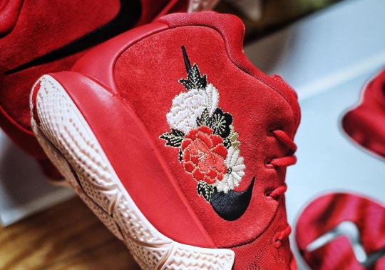"""Closer Look At The Upcoming Kyrie 4 """"Chinese New Year"""""""