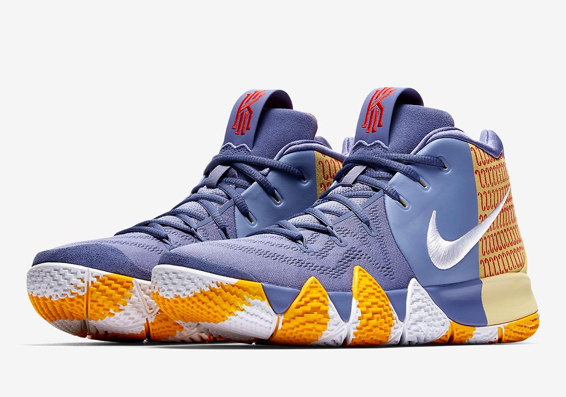 727cc14271f2 Nike Kyrie 4 London PE AR6189-500 Release Info