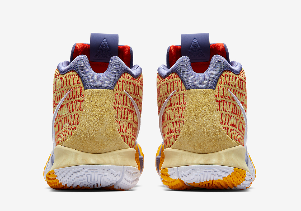 sports shoes dccc7 7c807 Nike Kyrie 4 London PE Release Date January 18, 2018 £105. Style Code  AR6189-500. show comments