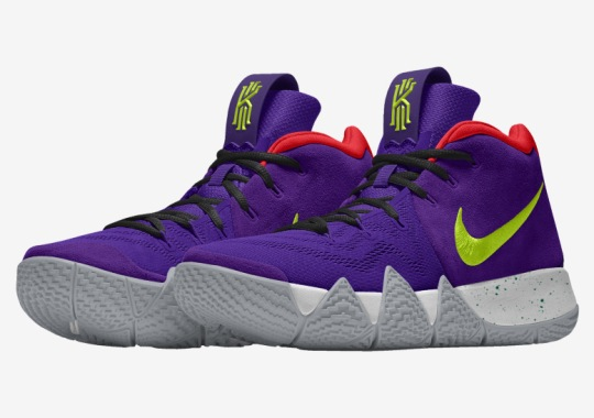 The Nike Kyrie 4 Is Available On NIKEiD
