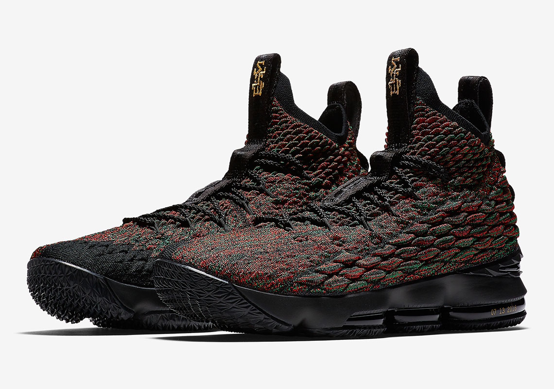 2298742988aaa Nike Lebron XV 15 EP Black History Month Multi-Color Black James Men s Basketball  Shoes