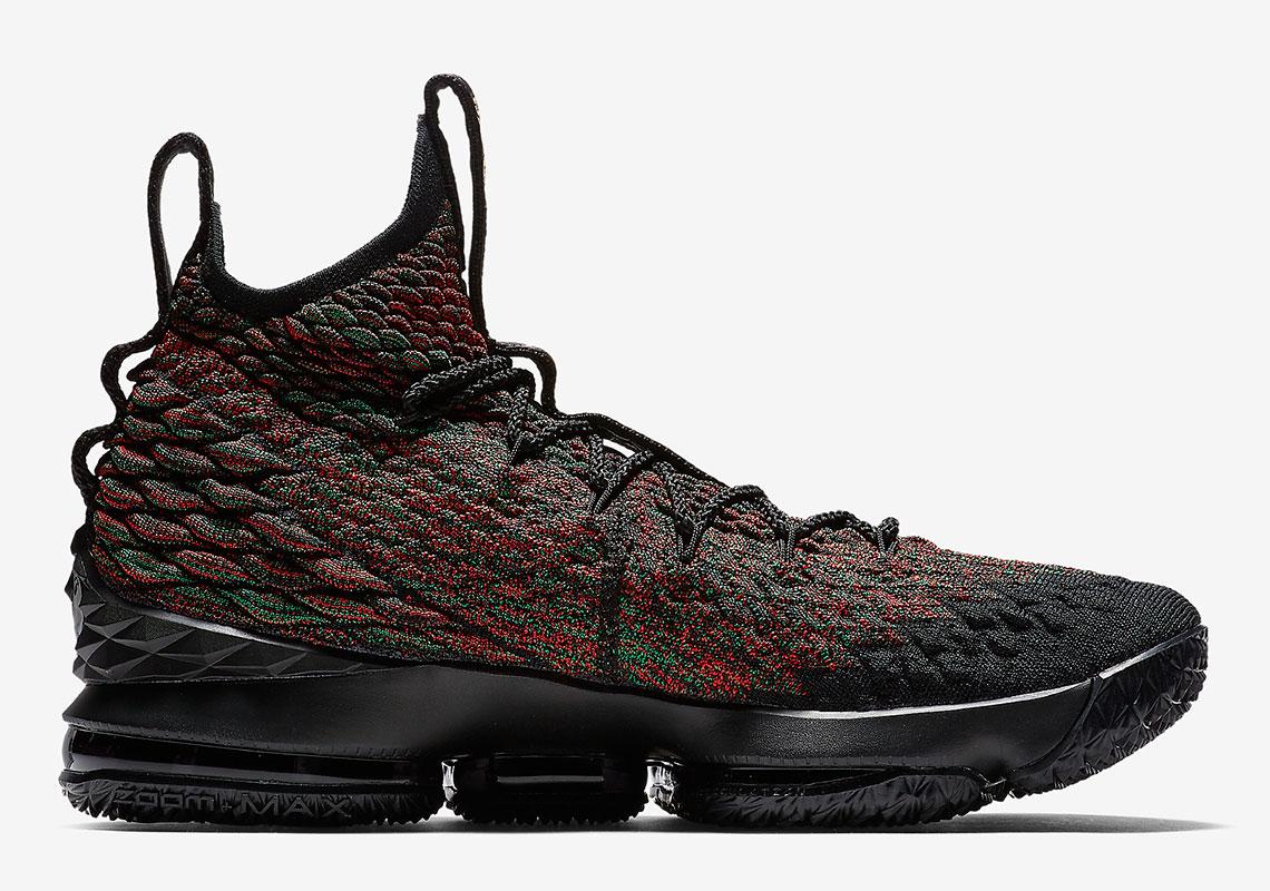 pretty nice 5b7ec 1f514 Nike LeBron 15 BHM AA3857-900 Release Date   SneakerNews.com