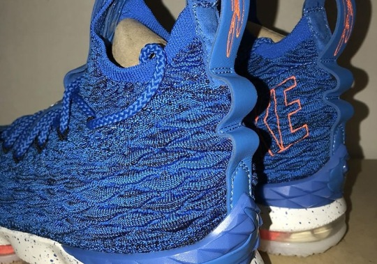 "Nike Revisits ""Hardwood Classic"" With The LeBron 15"