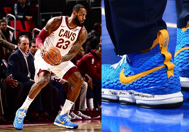 competitive price 30af7 240be Nike LeBron Watch - LeBron 15