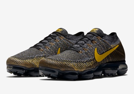 Nike Dresses The Vapormax Up in Black And Yellow