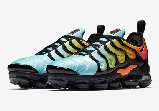 "The Nike Vapormax Plus In ""Tropical Sunset"" Drops Next Week"